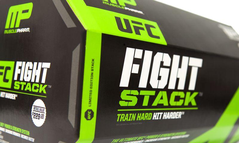 Andon Guenther Design LLC - MusclePharm Assault & UFC Fight Stack Packaging