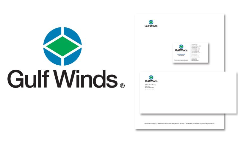 Brand Tackle - Gulf Winds Indentity & Branding