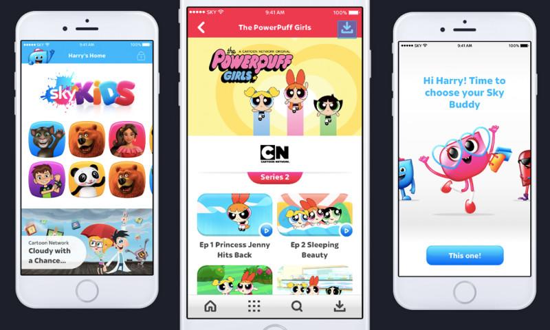 Skein - Sky Kids mobile app