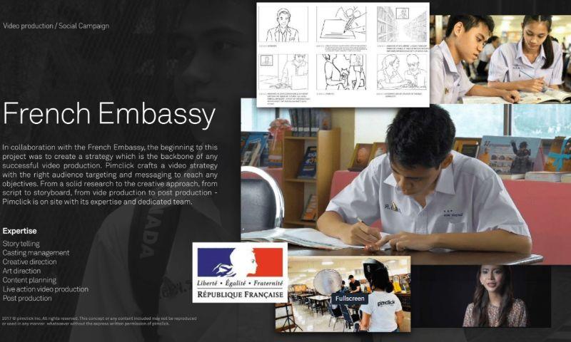 Pimclick - French Embassy
