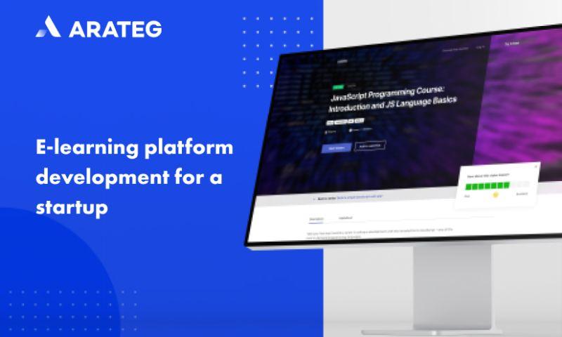 Arateg - E-learning platform development for an American startup