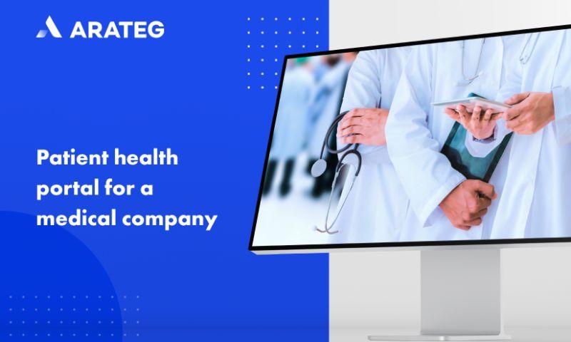 Arateg - A patient health portal