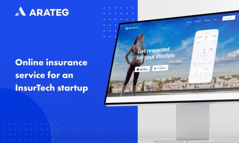 Arateg - An online insurance service