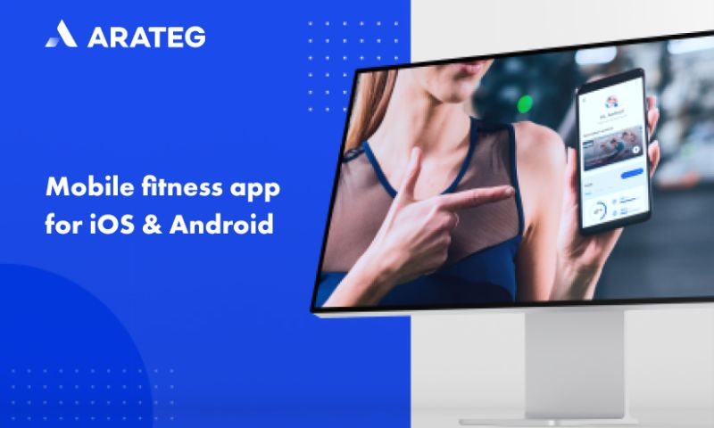 Arateg - A mobile fitness app for the the U.S. provider of sports
