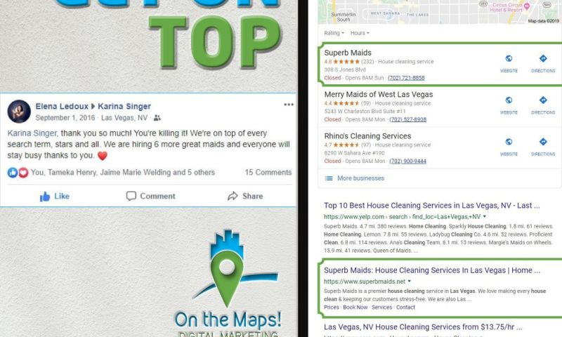 On The Maps Digital Marketing Company - Google My Business Optimizations