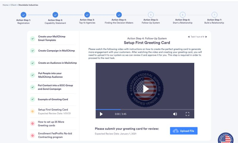 VUSE - Contracting Learning Program Tool