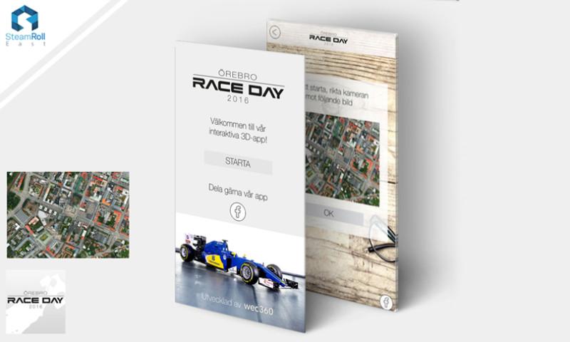 SteamRoll East LLC - Race Day   AR App
