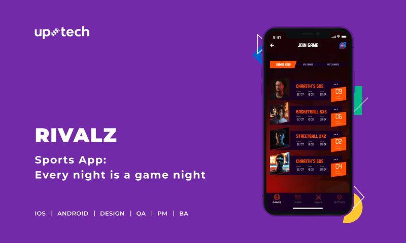 Uptech - Rivalz - sports app