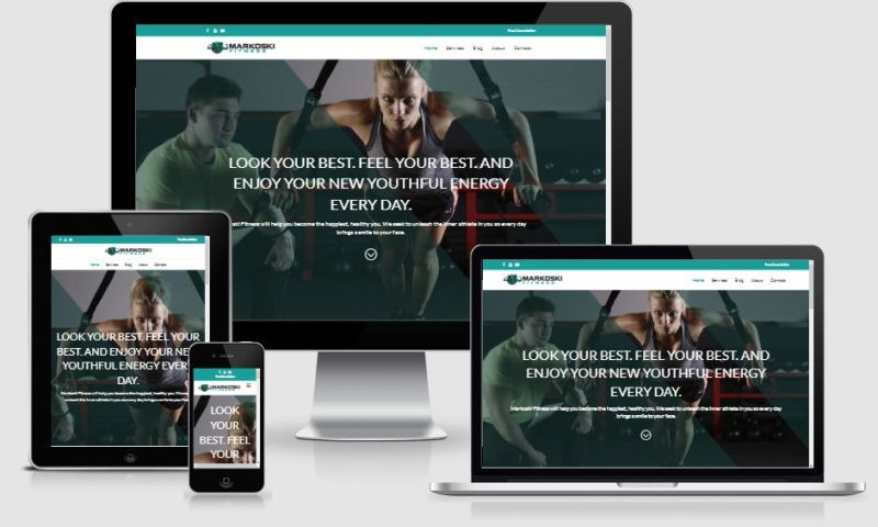 MarvelousWeb Media, LLC - Fitness Website Design & Facebook Marketing