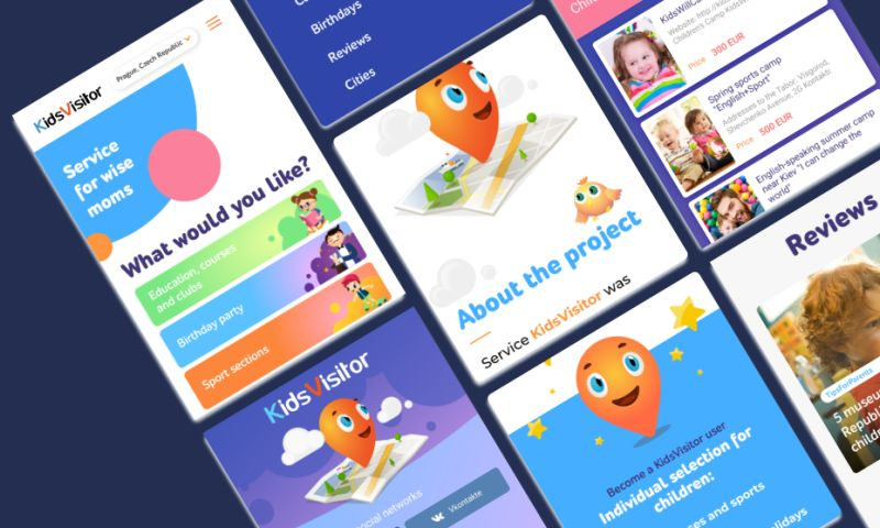 Software Development Hub - KidsVisitor