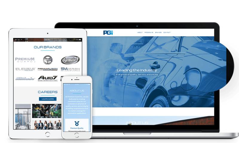 Lead to Conversion - Premium Guard - Responsive Website Design