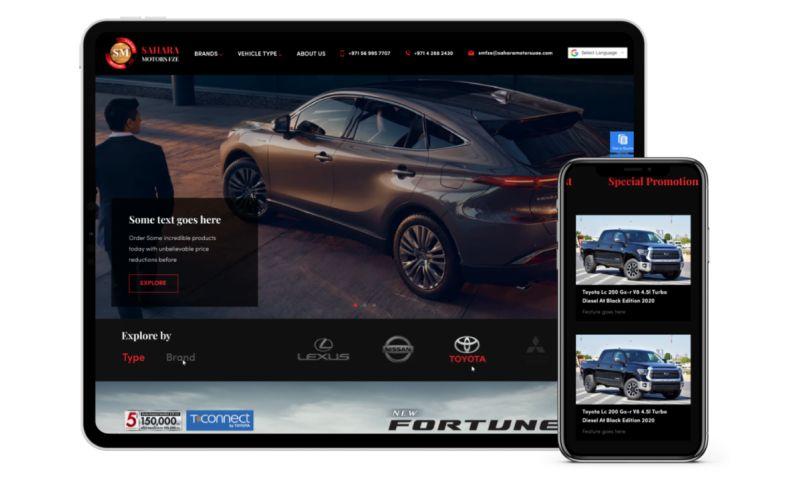 GCC MARKETING - Sahara Motors