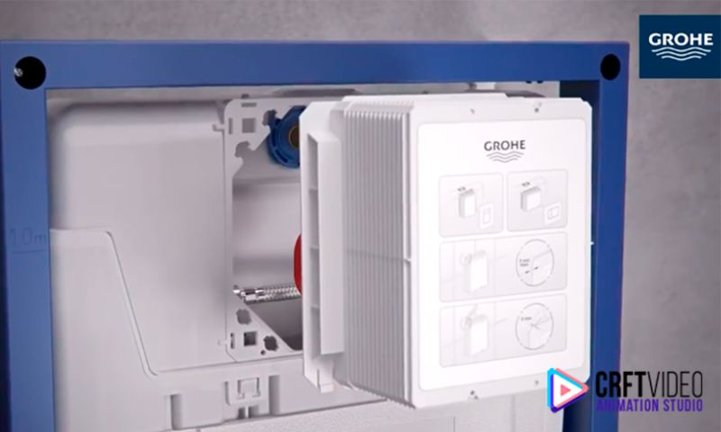 Crft Video - 3D Animated Video & Visualization - GROHE