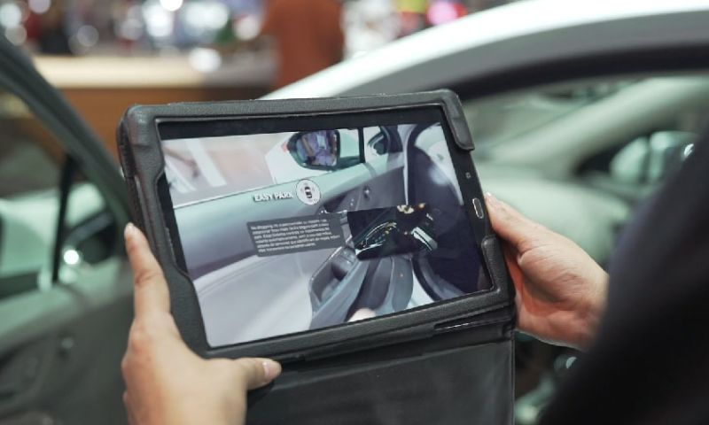 Webcore Interactive - Chevrolet - Augmented Reality