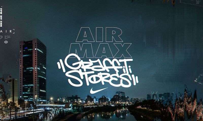 Webcore Interactive - Nike – Air Max Graffiti Stores