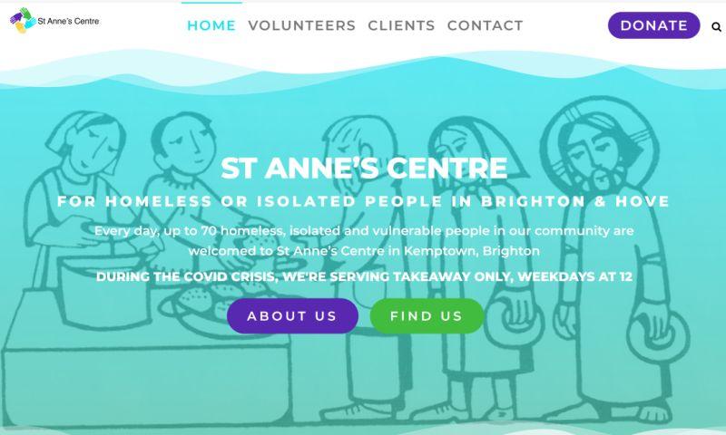 White Rabbit Consultancy - St Anne's Trust - WordPress Web Design