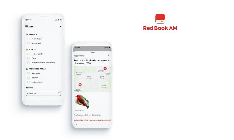 V-Mobile - Armenian Red List Species App