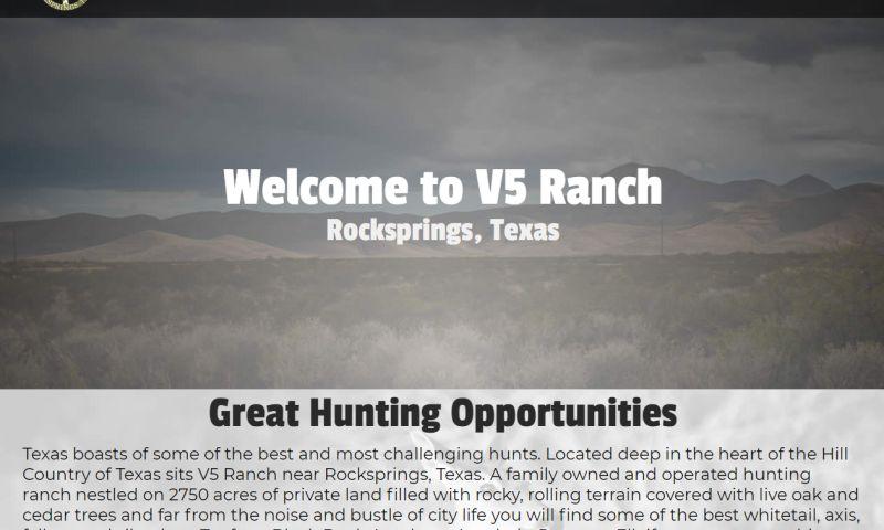 Williams Web Solutions - V 5 Ranch