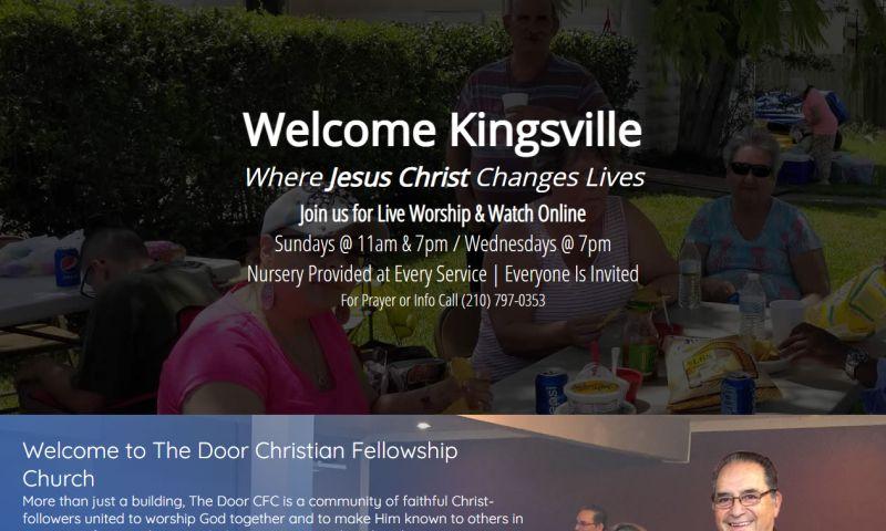 Williams Web Solutions - The Door CFC - Kingsville