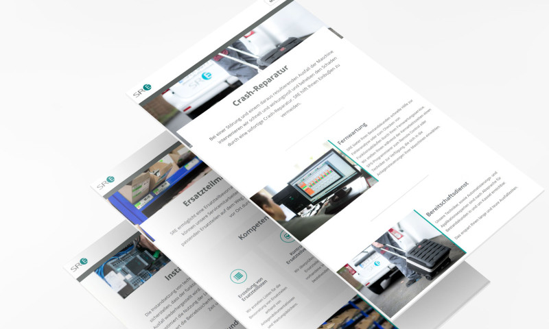 ESKOR Werbeagentur - Webdesign for SRE