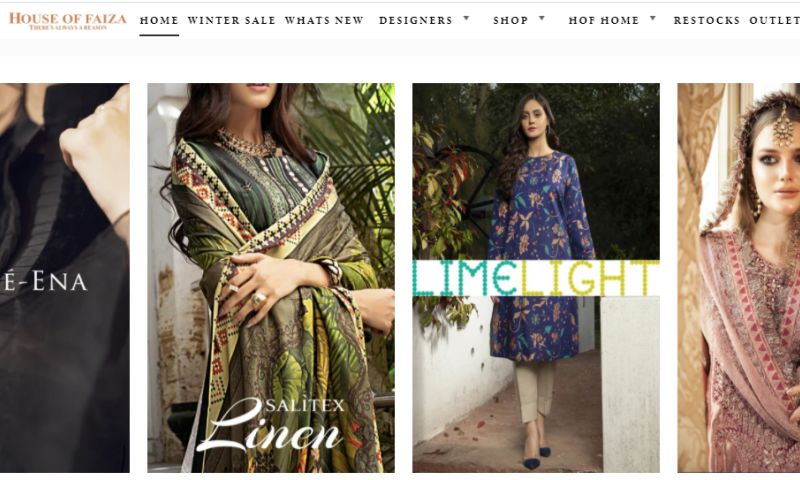 Xtreme Programmers - House of Faiza - Ecommerce Store