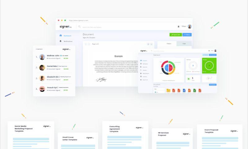 Visual Side - eSignature Web/App
