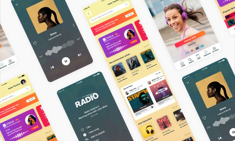 Visual Side - Music App