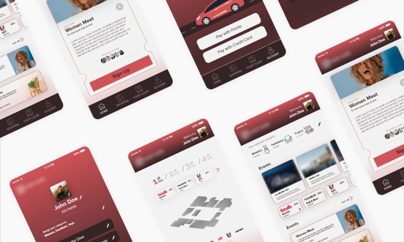 Visual Side - Shopping Mall App