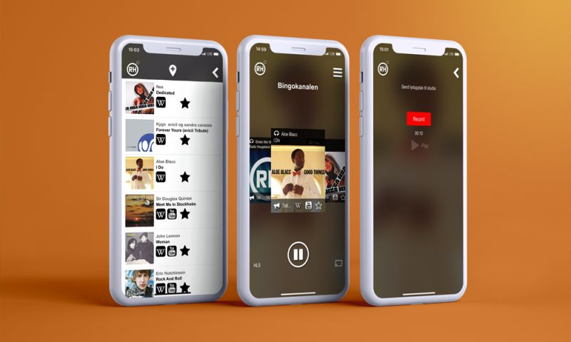 Quality Wolves - Audio Streaming App with xHE-AAC Support