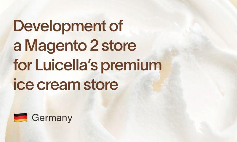 Staylime - Magento 2 development for Luicella's Premium Ice Cream
