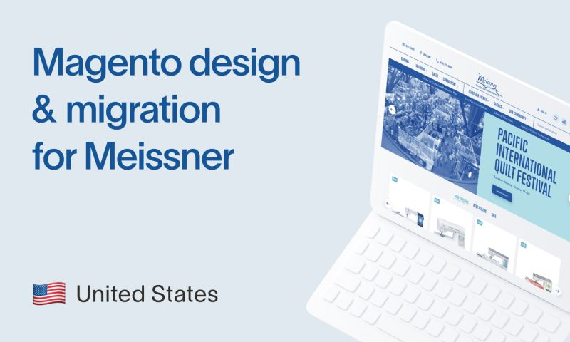 Staylime - Magento theme design and migration for Meissner