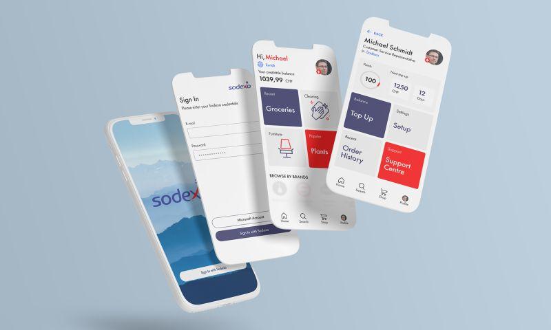 vinille® - Sodexo – UX mobile app design