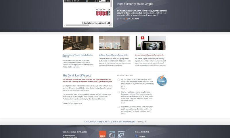 Odd Duck Media - Dominion Design Website Revamp