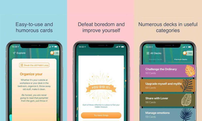 Vnited - Mobile app - Productive habit tracker