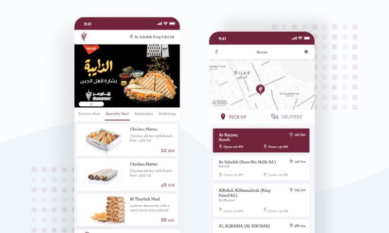 Railwaymen - Shawarmer - Mobile & Web Food Tech App