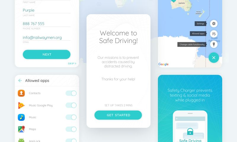 Railwaymen - Safe Driving - Mobile App
