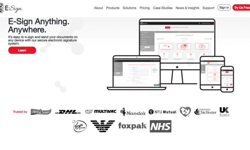 Spintech Software - E-Sign