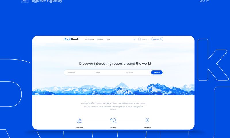Egorov Agency - Routbook   Webservice for tourists