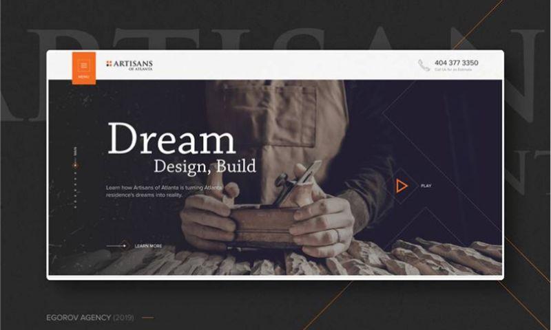 Egorov Agency - Artisans of Atlanta   Design