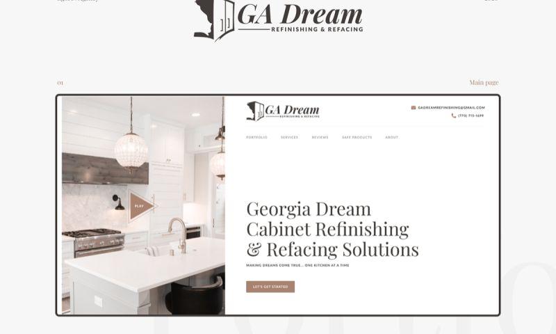 Egorov Agency - Georgia Dream   Design