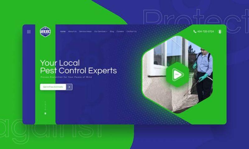 Egorov Agency - Turin Pest Control   Design