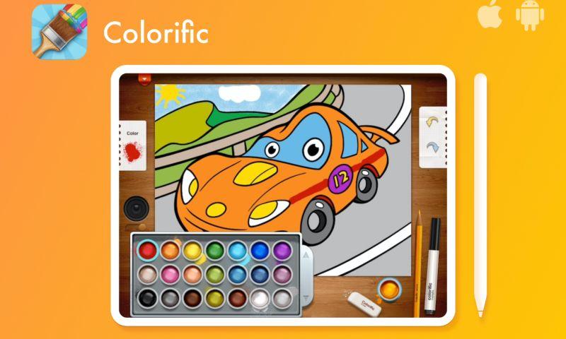 Appuchino - Colorific - colouring book for iPad