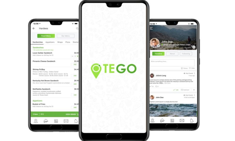 Biz4Solutions LLC - Otego - A Feature-rich On-demand Food Ordering and Delivery App!