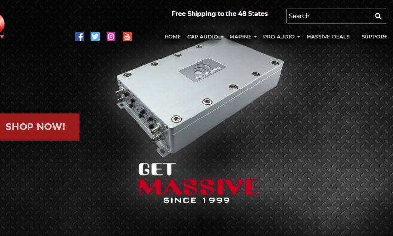 eStore Factory - Massive Audio