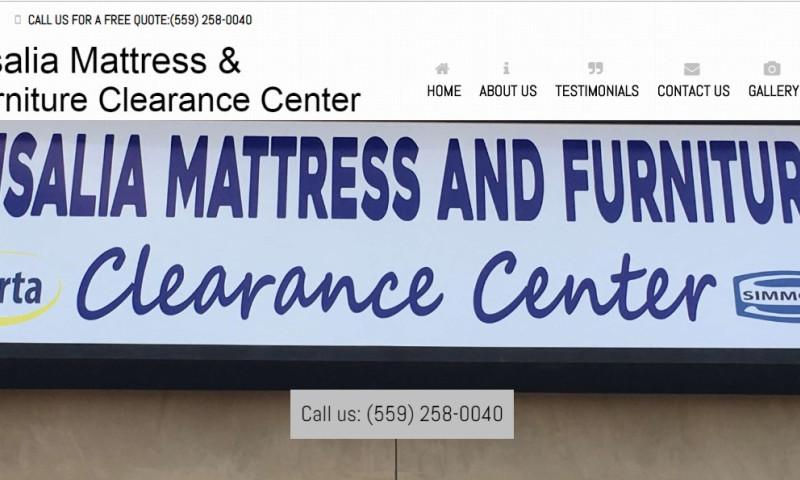 411 Locals - Visalia Mattress and Furniture Clearance Center