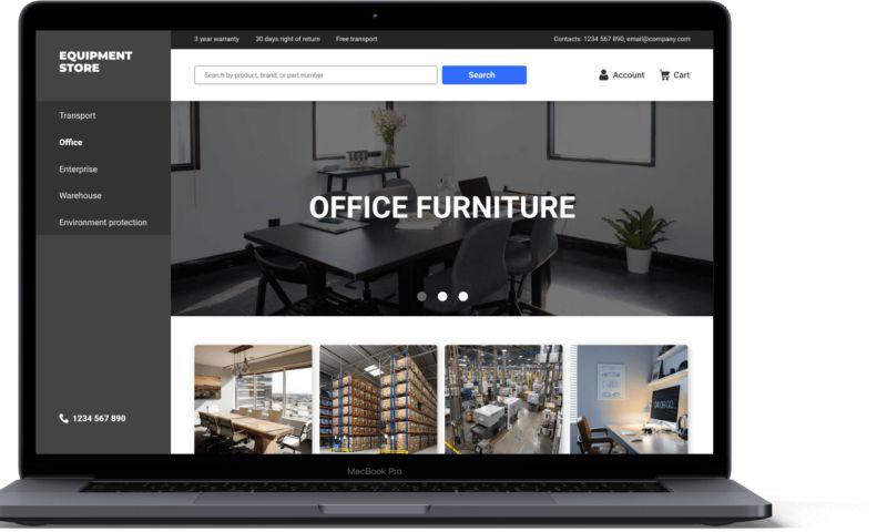 VironIT - B2B Online Equipment Store