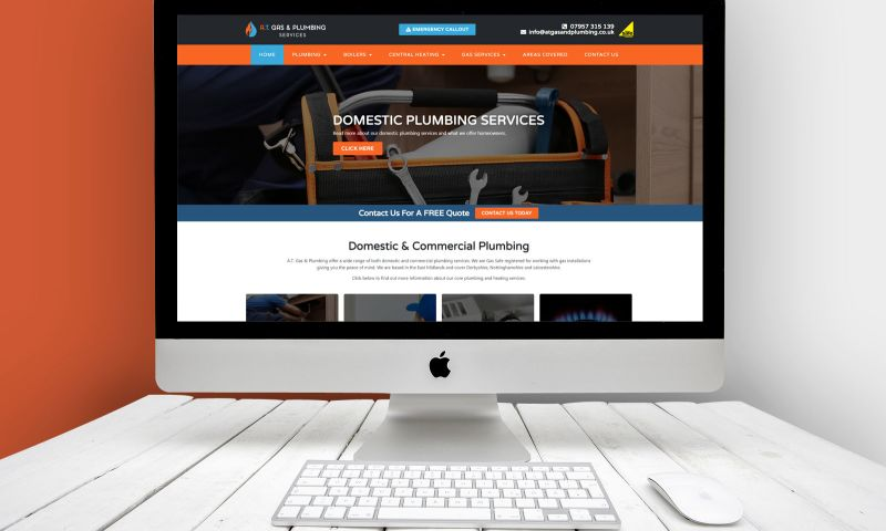Andy Morley SEO - A.T. Gas and Plumbing