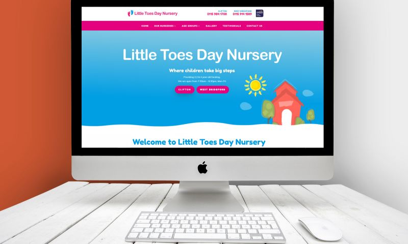 Andy Morley SEO - Little Toes Day Nursery