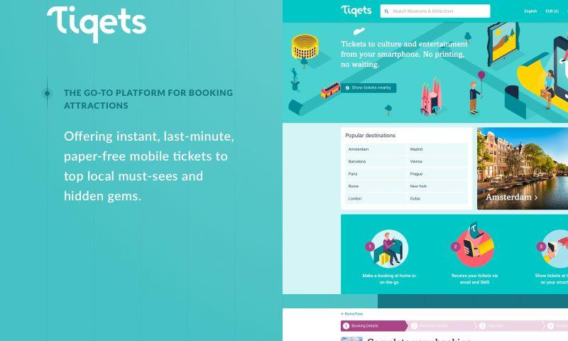 STX Next - Tiqets—a ticket-booking platform