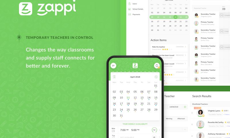 STX Next - Zappi—a platform supporting supply teaching